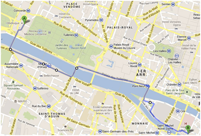 Paris in a day make sure you don 39 t miss any paris must do 39 s - Paris gallieni porte bagnolet google map ...
