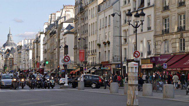 Marais quarter