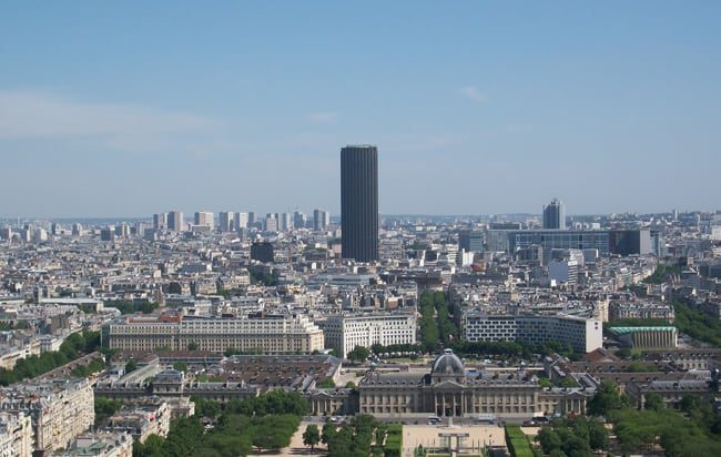 Top 10 Paris viewpoints