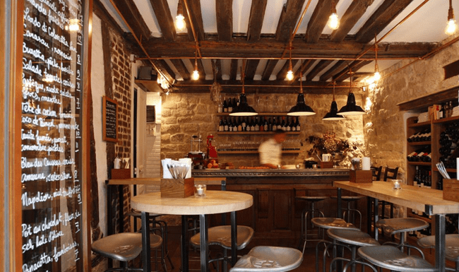 The 5 best wine bars in paris you should visit for Arredare bar idee