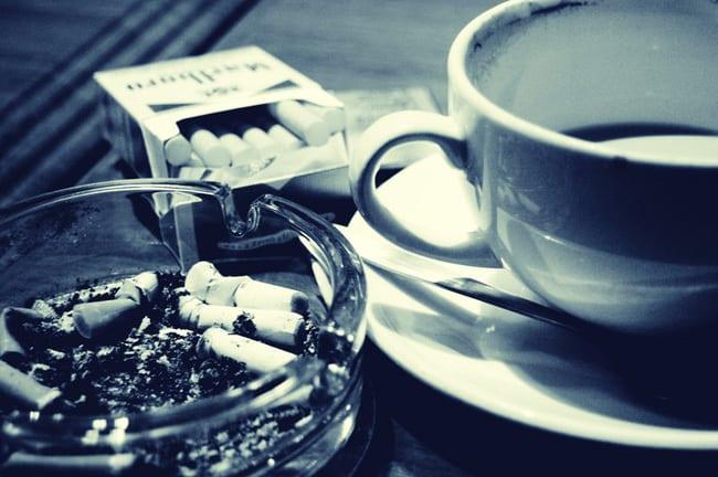 tea - smoking
