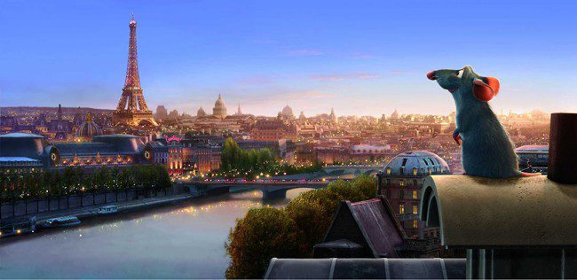Image result for ratatouille film paris