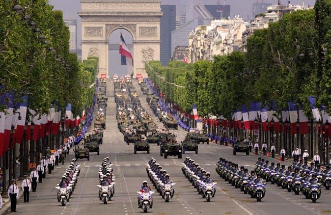 Motorcyclist squadron