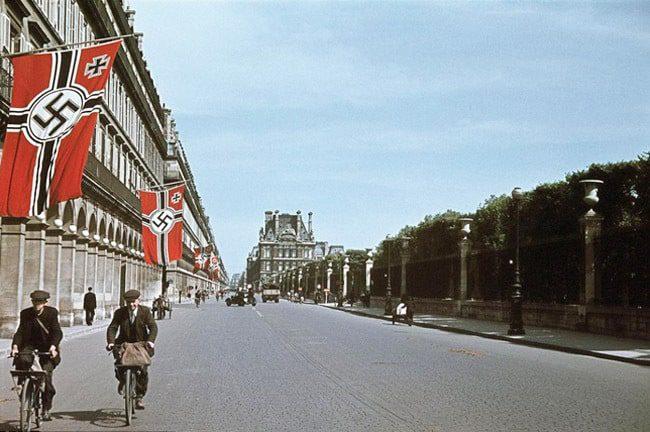The Paris liberation 1944