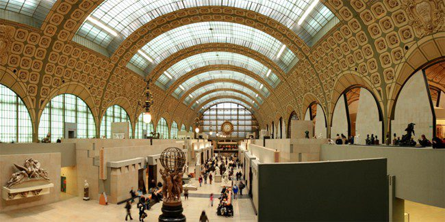 orsay museum hall