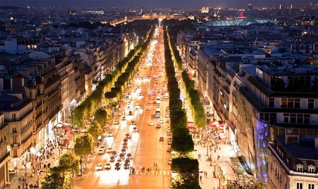 Paris Famous Food Street