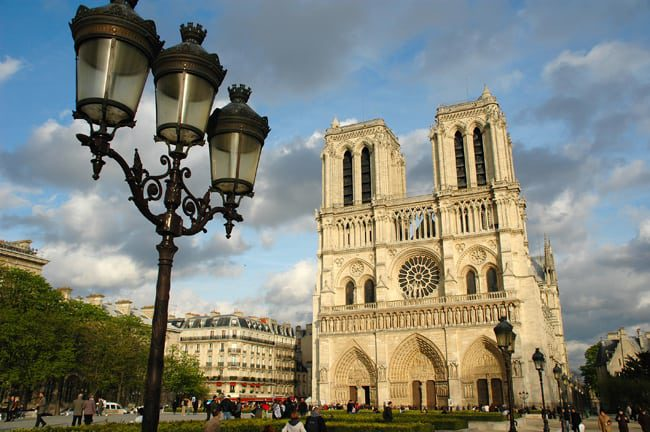 Things to do near the Pompidou museum - Notre Dame