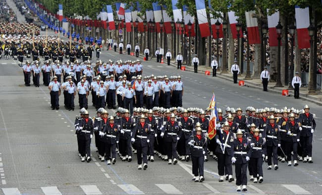 Things to do in Paris on Bastille Day Military Parade
