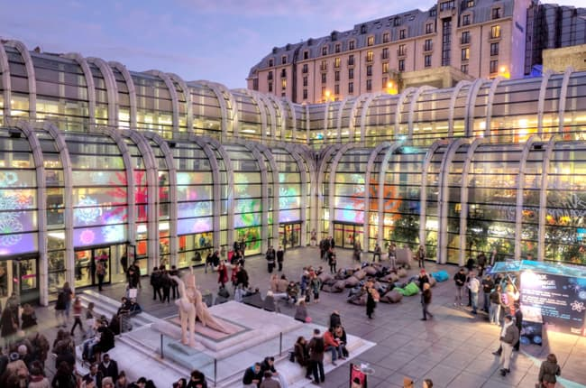 Things to do near the pompidou museum - Les halles boutiques ...