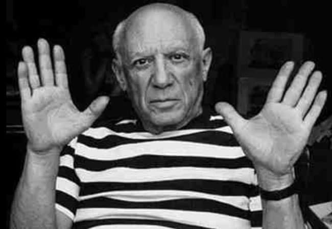 Top 5 artists who lived in Paris pablo-picasso