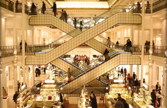 Department stores in paris discover walks paris - Hermes rue de sevres ...