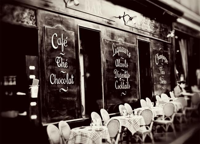 How to choose a Cafe in Paris