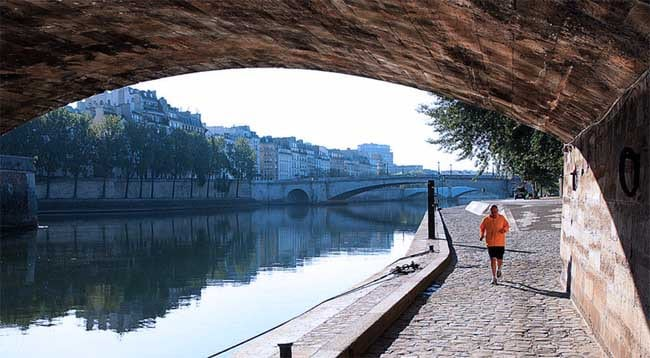 Where to go jogging in Paris