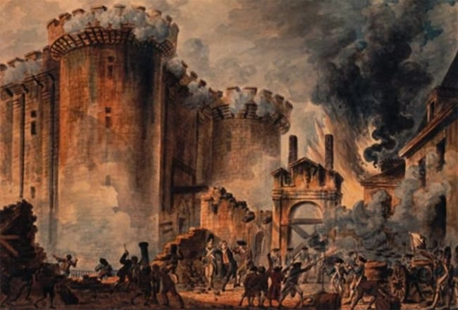 Top  Fun Facts About The French Revolution Frenchrevolution Bastille Day