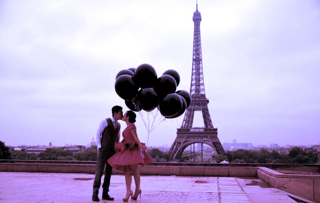 Top 5 spots to kiss in Paris