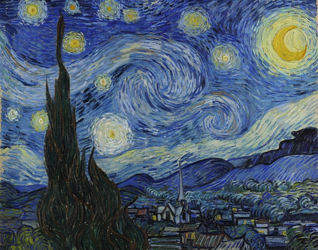 Top 5 fun facts about Van Gogh