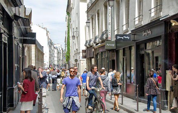 best streets in paris