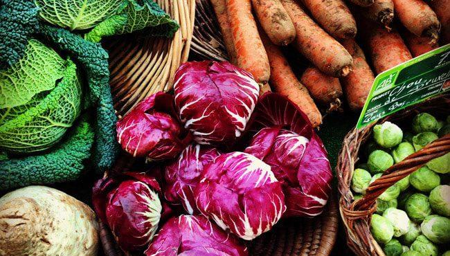 Organic food in Paris