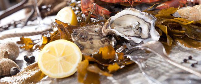 Seafood restaurants in Paris