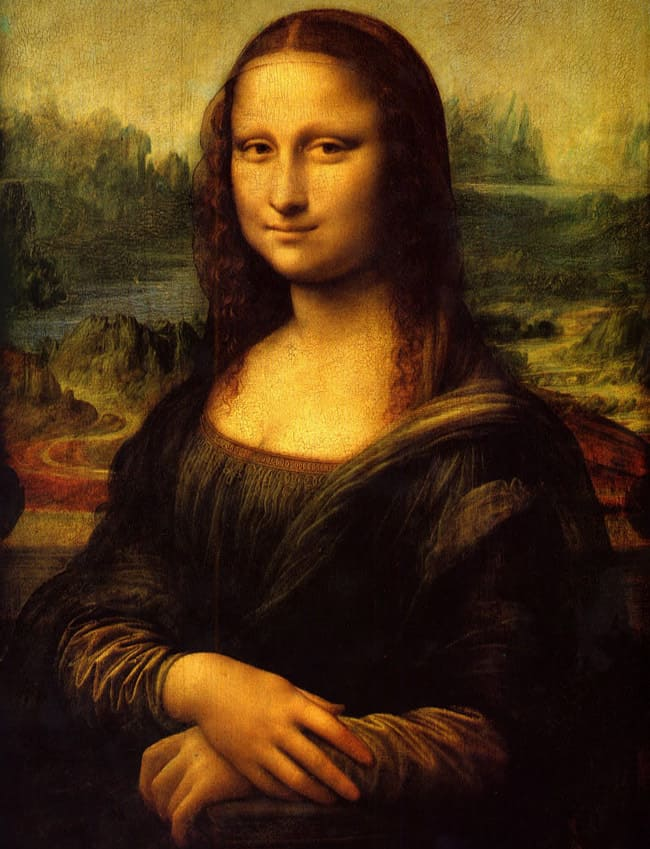 nothing-to-see mona lisa