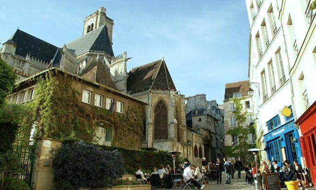 Best photo spots in Le Marais
