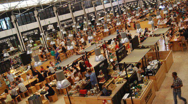 Top 5 Food Markets In Lisbon