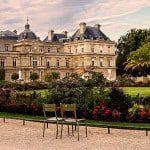 walking tuileries path
