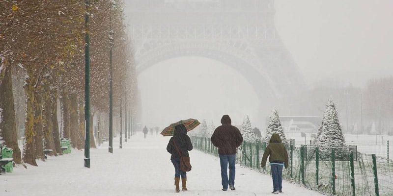 winter-Paris