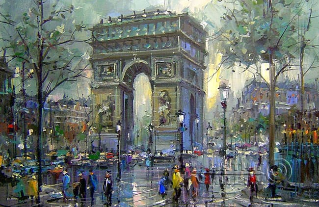 Impressionism In Paris The Painters And The City