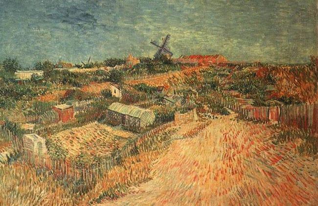 Montmartre-Van-Gogh