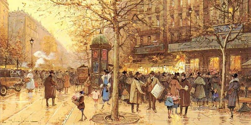 Impressionism Cafe Paris