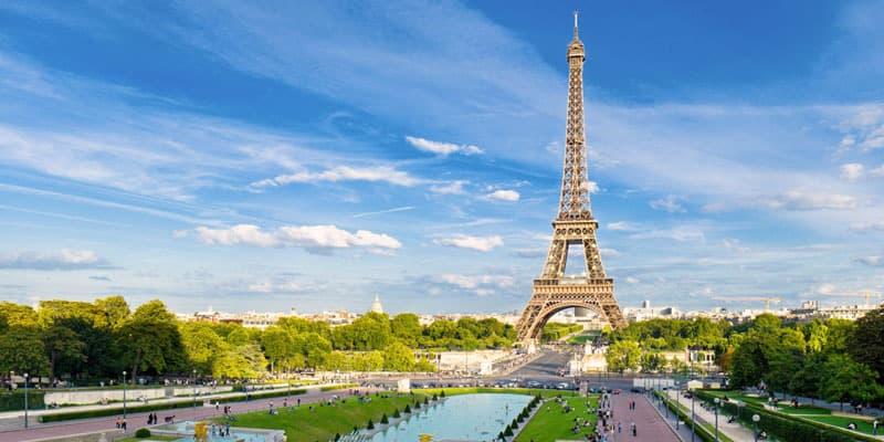 Eiffel-big Fly over Paris