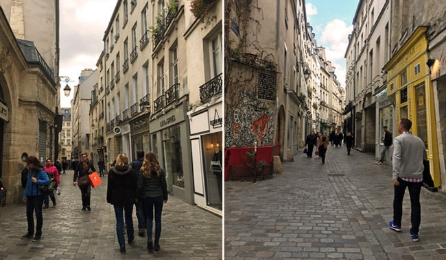 marais-streets