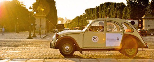 old-car Top 5 Paris tour companies