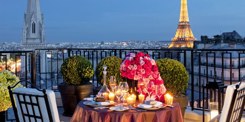 Image result for paris romantic places