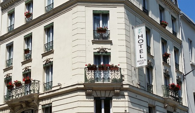 How to choose a 2 star hotel in Paris moulin-vert