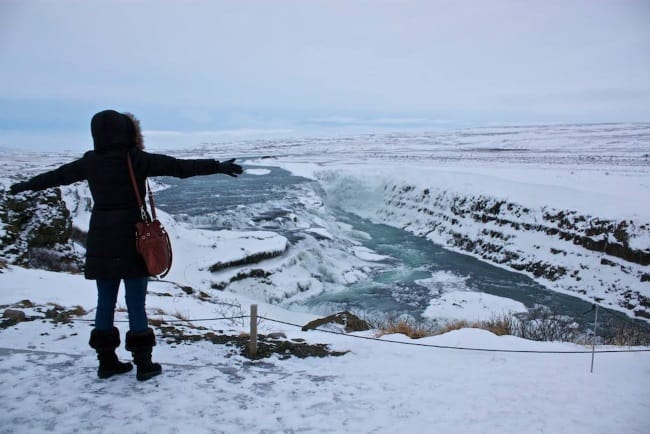 Cheryl Howard in Iceland