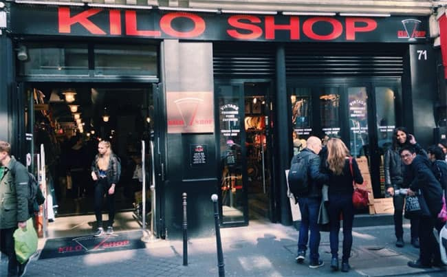 billig shopping paris
