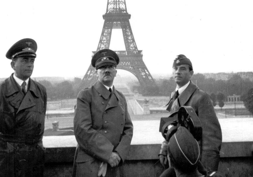 world war II in Paris