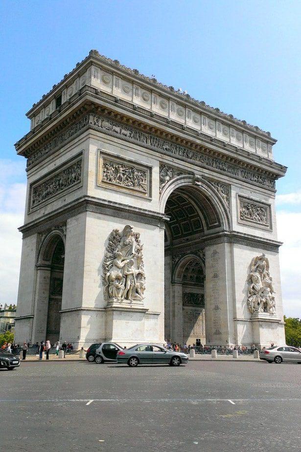 The Paris interview with Una and Kaspars Arc de Triomphe, Paris