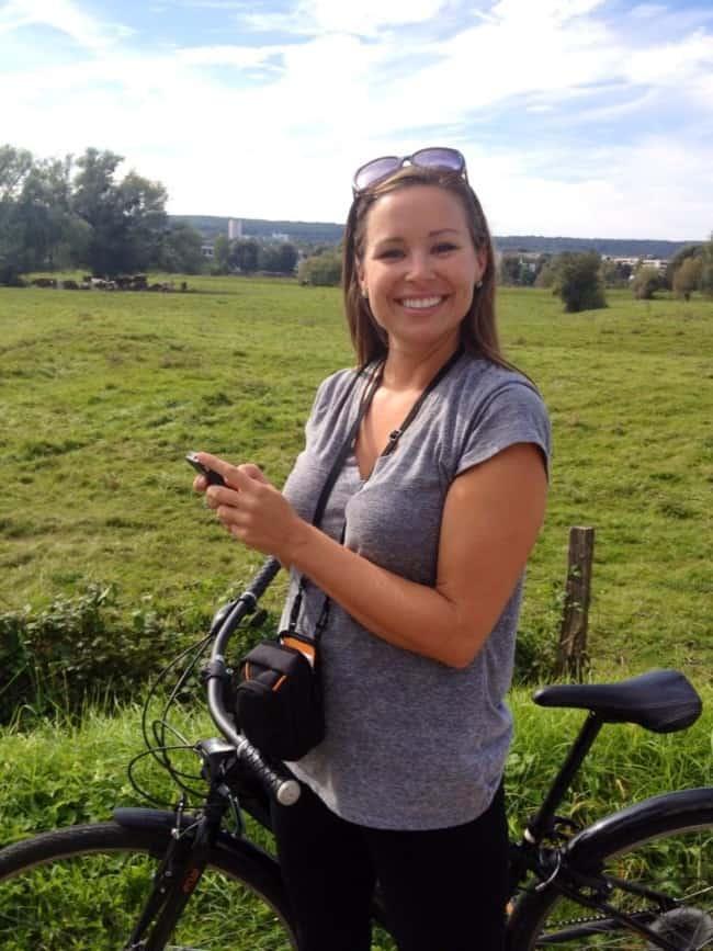 Biking to Giverny