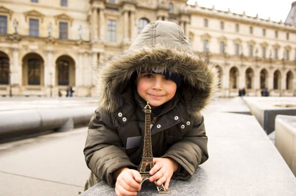 how to travel to paris with kids