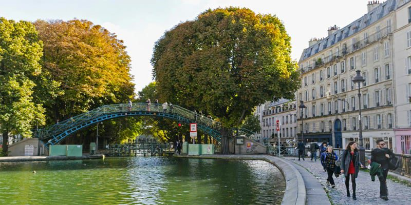 things to do near canal saint martin discover walks paris. Black Bedroom Furniture Sets. Home Design Ideas