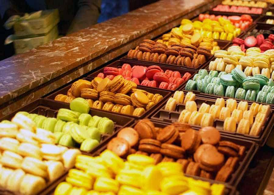 Macarons in Paris - nice food
