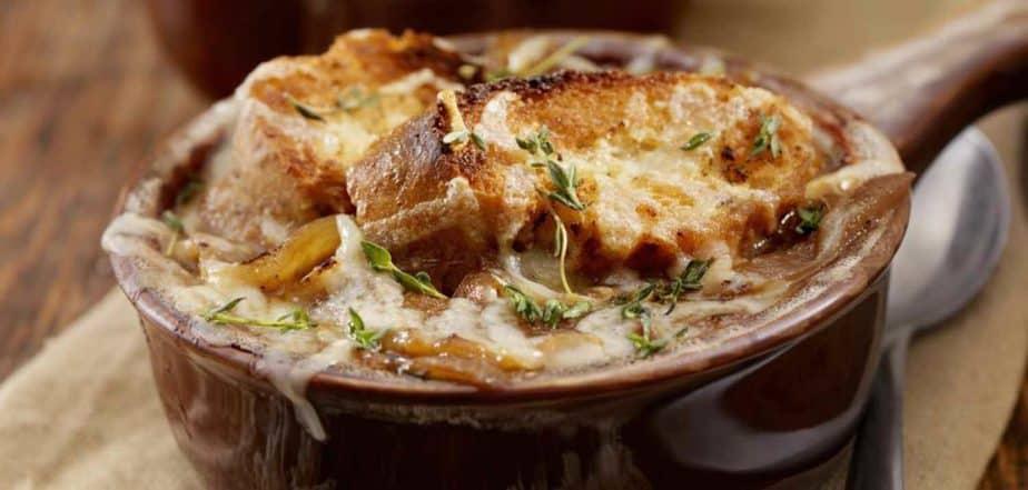A Frenchy soup: Soupe à l'oignon