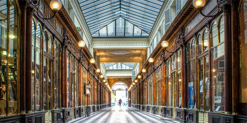 Top 5 covered passages not to miss in Paris