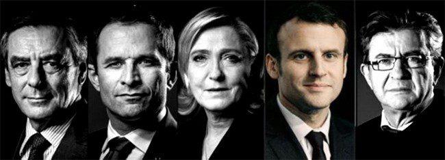 Macron - path to Elysée