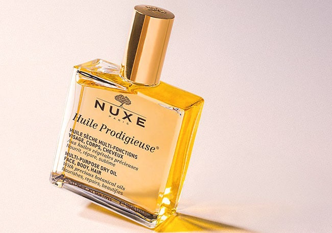 Best Parisian beauty products and where to buy them - nuxe-huile