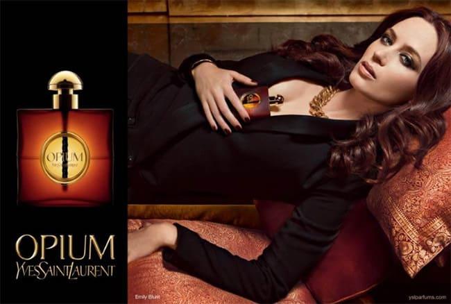 Top 5 Parisian perfumes - opium