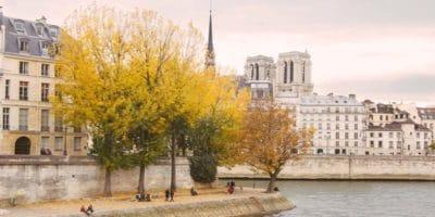 Paris weather in Autumn